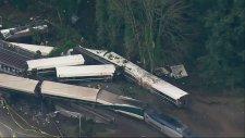 Washington'da Tren Kazası