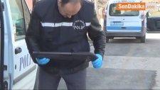 Uşak'ta Polis Aracına Ateş Açıldı