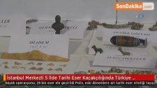 İstanbul Merkezli 5 İlde Tarihi Eser Kaçakçılığında Türkiye Tarihinin En Büyük Operasyonu: 26 Bin...