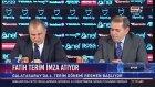 Fatih Terim Galatasaray'a İmza Attı