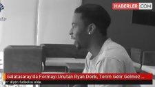 Galatasaray'da Formayı Unutan Ryan Donk, Terim Gelir Gelmez