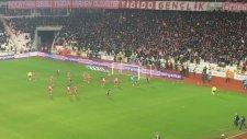Sivasspor 1-1 Beşiktaş - Gol: Negredo (Tribün Çekimi)