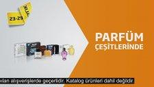 23-29 Aralık Tarihlerinde Parfüm Çeşitlerinde Yüzde 50 İndirim!