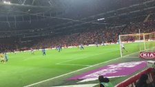 Galatasaray 1-1 Göztepe Gol: Garry Rodrigues (Tribün Çekimi)