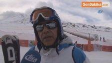 Erciyes'de Atlı Kızak Keyfi İlgi Görüyor