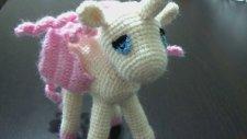 Amigurumi/Örgüden My Little Pony/ Organik Oyuncak.