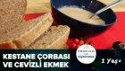 Kestane Çorbası ve Cevizli Ekmek | Profilo ile Pişiriyoruz | İki Anne Bir Mutfak