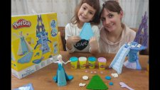 Karlar Ülkesi Elsa Disney Frozen Play-Doh, Toys Unboxing, Oyuncak