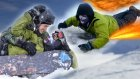 Snowboard Üzerinde Yatarak Kaymak