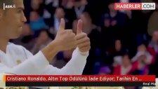 Cristiano Ronaldo, Altın Top Ödülünü İade Ediyor: Tarihin En İyisi Messi