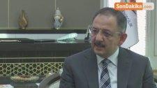 Çevre ve Şehircilik Bakanı Özhaseki - Deprem Yasası Meclise Gelmeyi Bekliyor