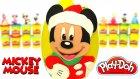 Miki Mouse Yılbaşı Sürpriz Yumurta Oyun Hamuru