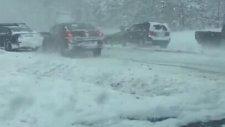 ABD'de 30 Aracın Karıştığı Zincirleme Trafik Kazası