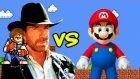 Chuck Norris vs Super Mario