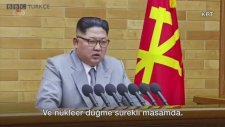 Kim Jong Un : Nükleer Silah Düğmesi Sürekli Masamda