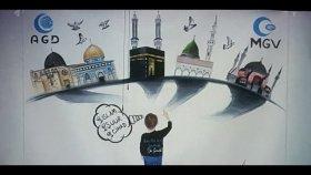 Mekke'nin Fethi ve Kudüs Gecesi Programına Yaptığım Çizim