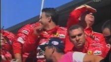 2003 Formula 1 İtalya Grand Prix'i Podyumu - Milli Marşlar