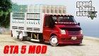 Gta 5 Ford Transit Açık Kasa Sebzeci Modu!!! Ekip