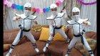 Elife Ninja Kostüm. Beyazlar İçinde Elife Çok Yakıştı
