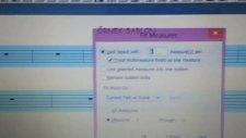Finale 2011 Ctrl+a Sonra Ctrl+m Page Sayfa Measure Mezür Sayısı Aşağı Yukarı Aykut Öğretmen