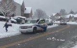 Kar Topu Atan Çocuklara Kanada Polisinin Sert Tepkisi