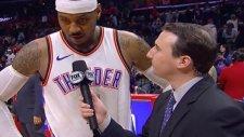 Russell Westbrook'un Sulu Şakasına Carmelo Anthony'nin Cevabı