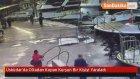Üsküdar'da Oltadan Kopan Kurşun Bir Kişiyi Yaraladı