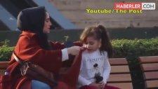 İstanbul'da Üşüyen Bir Kız Çocuğuna Montunu Verdi