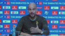 Guardiola: Şu An Tek Forvetimiz Var