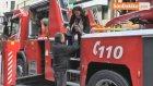 Karaköy'de İş Merkezinde Yangın Çıktı