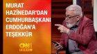Murat Hazinedar'dan Cumhurbaşkanı Erdoğan'a Teşekkür