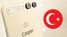 İlk Yerli 4 Kameralı Telefon: Casper Via F2