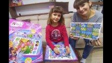 Winx İnteractive Quiz 100'den Fazla Soruya Cevap Ver Kazan, Işıklı Toys Unboxing