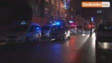 Beyoğlu'nda Polis Aracı Alev Alev Böyle Yandı