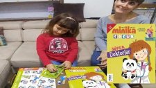 Minika Çocuk Dergisi Açtık. Sağlık ve Doktorlarımız. Bulmacalar