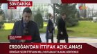 Bahçeli ile Görüşen Erdoğan'dan İlk Açıklama Milli Bir Mutabakat Olacak