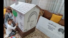 Kartondan Oyunevi Prenses Kalesi, Orman Salyangoz Köpekcikler, Toys Unboxing