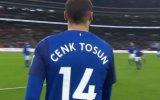 Cenk Tosun'un Topla Buluştuğu Anlar Tottenham 40 Everton