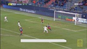 Gol Sevincinde Ortalık Karıştı! Caen - Lille (Özet)