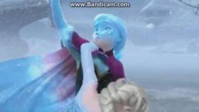 Karlar Ülkesi - Anna'nın Hans'tan Elsayı Kurtarması
