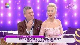 Metin Şentürk'ten Nusret Taklidi