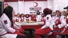 Türk Kızılayı'na Aşçı Yetiştiriyor