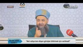 Cübbeli Ahmet Hoca - Amellerimizin Sabah Akşam Resulullah (S.A.V.)e Bildirilmesi