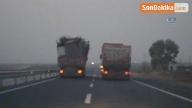 Fazla Yakıt Kullanmamak İçin Trafiği Böyle Tehlikeye Soktu