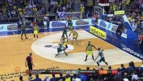 Fenerbahçe 67-62 Panathinaikos (Maç Özeti - 17 Ocak 2018)