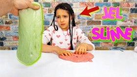 Jöle Tozundan Slime Yapımı - Jelibon Slime Gibi Oldu !