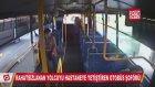 Rahatsızlanan Yolcuyu Hastaneye Yetiştiren Otobüs Şoförü