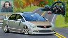 Vuutututu!!! Dağ Yolundayız!!! Assetto Corsa Honda Civic Logitech G920