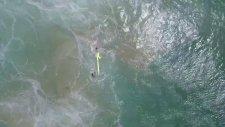 Drone Kullanılarak Yapılan İlk Kurtarma Operasyonu