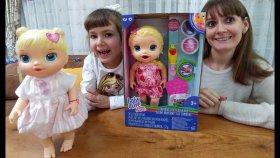Elife Yeni Baby Alive , Yemekleri ve Bebek Bezi İle, Biz İsmini Lacy Koyduk